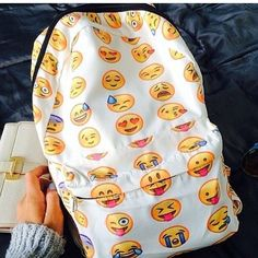Cool awesome emoji bag