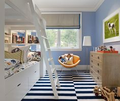 A Blue And White Room With Lots Of Multi Colored Accents Keeps From Being Too Matchy Boys Design Pictures Remodel Decor Ideas Page 10