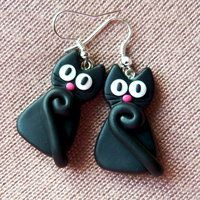 Black cats by amalie2  IDEA