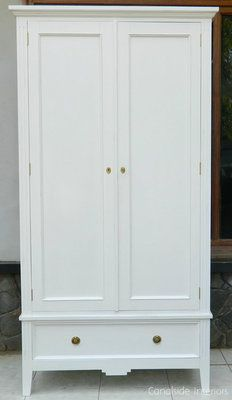Furniture Antique Oak Hand Carved Knock Down 2 Door Wardrobe Armoire Cabin Clothes Closet Catalogues Will Be Sent Upon Request