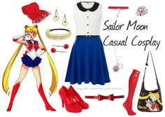 Cosplay Every Day: - casual - sailor moon