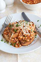 Breakfast Beans on Toast