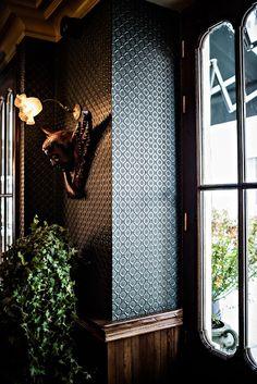 #Vintage de lujo en un hotel de París.