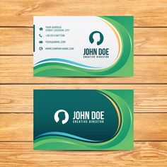 Business card design free vector business pinterest business geometric business card design reheart Image collections