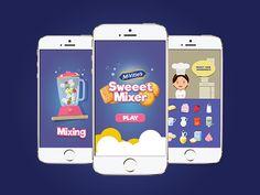 Mobile Game UI Mockup by Jetro Taiwo