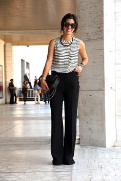 how adorable does this look.. you can wear it as a work outfit or tune it up with some amazing heels as a going out outfit