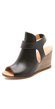 MM6 Maison Martin Margiela Sling Wedge Sandals