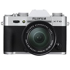"""Super oferta en Fujifilm X-T10 - Cámara EVIL de 16 MP (pantalla de 3"""", LCD, 1080 p FHD, CMOS II) negro y plata - kit cuerpo con objetivo Fujinon XC 16 - 50 mm f/3.5 - 5.6 OIS II descubre este y muchos otros chollos en loco de ofertas, te traemos a diario los mejores descuentos"""
