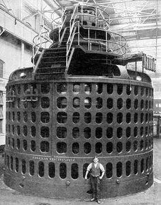 USOS Y APLICACIONES DE LA ENERGÍA ELÉCTRICA Plastic Laundry Basket, Set Design, Retro, Home Decor, Ideas, Electric Power, 19th Century, Fonts, Colors
