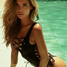 New Black Sexy lace up one piece swimwear New Black Sexy lace up one piece swimwear  Size: Small  Is to small for me to model it.  See anything else you like in my closet!!! Jus  ask me and I'll make you a listing with a  discount.  Se habla espa?ol ? Swim One Pieces