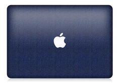 MacBook Pro or Air Blue Brushed Skin FULL COVERAGE by iCoverSkin, $49.99