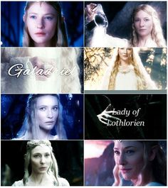 Middle-Earth meme:   elves - Galadriel      The world is changed. I feel it in the water. I feel it in the earth. I smell it in the air.