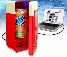 Nevera USB para lata de refresco