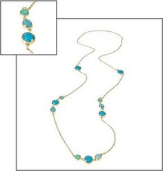 Fornash Cabana Necklace in blue