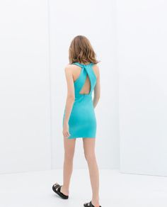 crossover back dress - Google Search