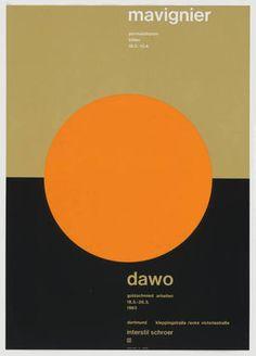 MoMA | The Collection | Almir Mavignier. Mavignier, Dawo. 1963