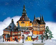 """Lichthäuser Weihnachtsdeko Set """"Historische Häuser"""""""