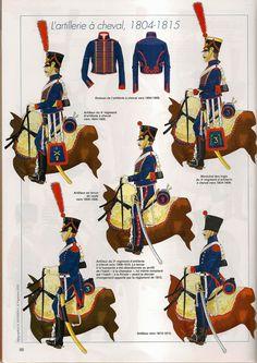Artiglieria a cavallo della linea francese