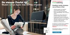 Teufel AirPlay speaker