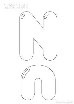 Letter Patterns, Applique Patterns, Block Lettering, Hand Lettering, Bubble Letters, Abc Activities, Printable Paper, String Art, Alphabet