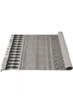 House Doctor Block Rug -  90 cm x 200 cm