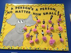 Horton hears a who bulletin board dr. Seuss Horton hears a who bulletin board dr. Dr Seuss Bulletin Board, Birthday Bulletin Boards, Preschool Bulletin Boards, Classroom Crafts, Classroom Door, Birthday Board, Classroom Themes, Preschool Crafts, March Bulletin Board Ideas