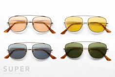 might be my next pair from  SUPER 'Primo' Sunglasses