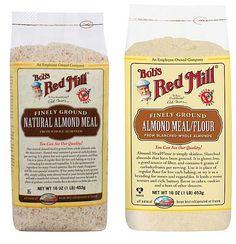 Almond Meal Comparison   Bob's Red Mill