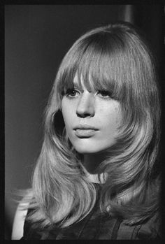 50 rare and beautiful black white portraits of marianne faithfull previously unseen photographs of the 1965 tv special the music of lennon mccartney were recently discovered at the british film institute in london altavistaventures Choice Image