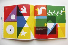 """""""My color is rainbow"""" picture book on Behance"""
