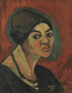 Suzanne Valadon · Autoritratto · 1916 · Ubicazione ignota