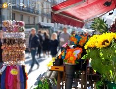 Did you know?  Originally the las Ramblas was just a place to buy flowers!  Now you can buy all sorts of souvenirs! #GowithOh