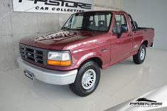 Ford F1000 XL 4.9i 1998 . Pastore Car Collection Motor A Diesel, Motor A Gasolina, Ford Pickup Trucks, Apple Logo, Lincoln, Mercury, Vehicles, Interior, Cord Automobile