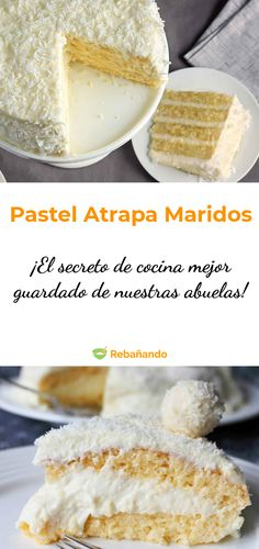 El secreto de cocina mejor guardado de nuestras abuelas. ¡Este postre nunca falla! Sweet Desserts, Just Desserts, Sweet Recipes, Delicious Desserts, Cake Recipes, Dessert Recipes, Yummy Food, Sugar Free Carrot Cake, Carrot Cake Decoration