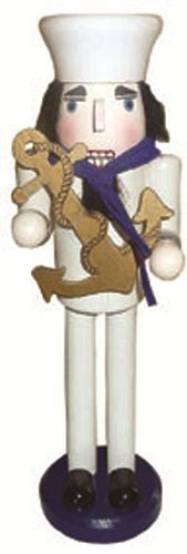 US Navy Sailor Military Wood Christmas Nutcracker 15 inch USN Decoration | eBay