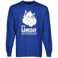 Saint Louis Billikens Gameday Long Sleeve T-Shirt - Royal Blue