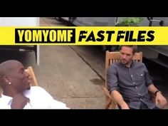 """""""FAST & FURIOUS 6"""" BTS  Tyrese Confronts Paul Walker...You two are just visitors...the studio came at me  said they wanted to make another movie, know what I told em?  I said kill these two motherfuckers I'll come back for 7...You know what they said? O-kay.     Bahahaha!! hilarious"""