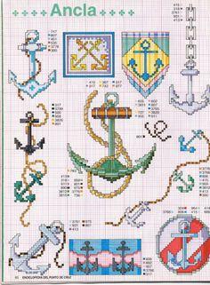 Kreuzstich sticken cross stitch - free pattern Gallery.ru / Foto # 39 - Enciclopèdia ITALIANA - KIM-2