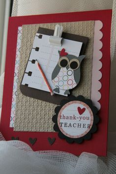 Stampin' Up!  Owl Punch  Janice Lee