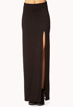 Sleek Maxi Skirt   FOREVER 21 - 2040495556