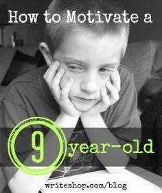 The Ultimate Homeschool Pinterest Party: How can you motivate a 9-year-old who doesn't like to write? + More