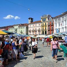 Markt von Locarno