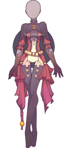 Outfit adoptable 34 (OPEN!) by Epic-Soldier.deviantart.com on @DeviantArt                                                                                                                                                                                 More
