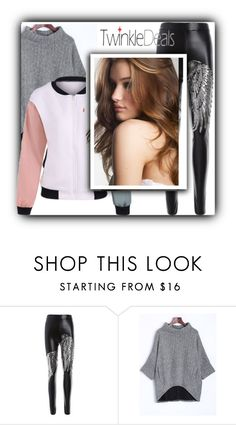 """""""Fashion"""" by fatimka-becirovic ❤ liked on Polyvore featuring jacket, pants and twinkledeals"""