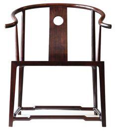 天圓地方圈椅