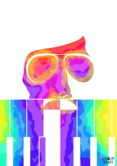 PianoBar by Guadalupe Ferrante, via Behance (charly garcia)