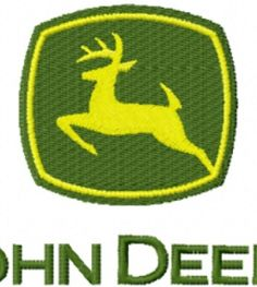 Tractor Applique Pattern | John Deere Tractor Logo Machine Embroidery Design in 4 Sizes $4 Fit To ...
