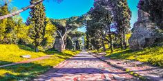 ViewRanger GPS maps and routes Italy: The Appian Way [Ancient Roman Road] Brindisi-Benevento-Rome 28 Stages 697 km Appian Way, Roman Roads, Gps Map, Ancient Romans, Rome, Maps, Italy, Santiago, Drive Way