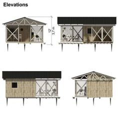new dream for Stephanie and Bret garden-storage-shed-elevations Utility Pad And Utility Pad Holder I Building Costs, Building A Tiny House, Tiny House Plans, Garden Storage Shed, Storage Shed Plans, Blueprint Construction, Car Shed, Shed Blueprints, Build Your Own Shed