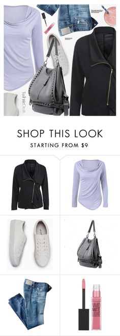 """""""Casual Style"""" by pokadoll ❤ liked on Polyvore featuring AG Adriano Goldschmied, Hedi Slimane, Maybelline, polyvoreeditorial and polyvoreset"""